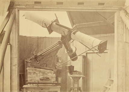 Transit of Venus photoheliograph, 1874.