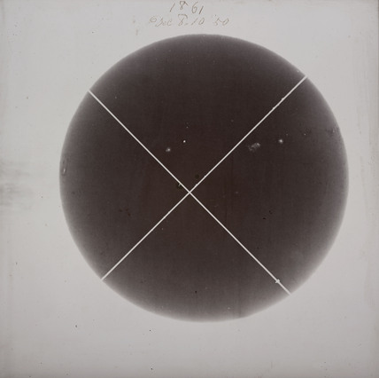 Photograph of the Sun, Richmond, London, 8 December 1861.