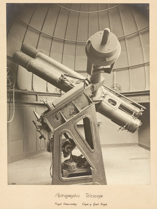 Astrographic telescope, Cape Town Observatory, 1909.