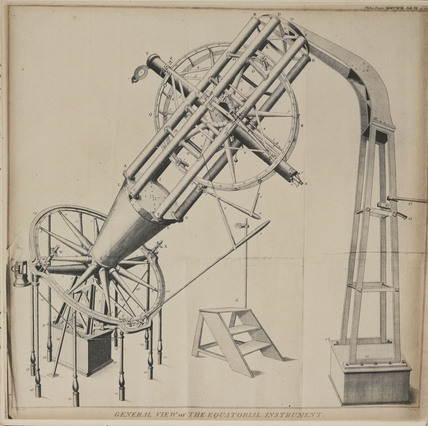 Shuckburgh's equatorial refracting telescope, 1791.