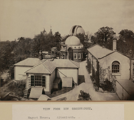 The Royal Observatory, Greenwich, London, 1914.