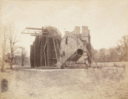 Great Rosse telescope, Birr Castle, Ireland, 1880.