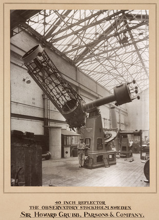 40 inch reflecting telescope, Newcastle upon Tyne, 1931.