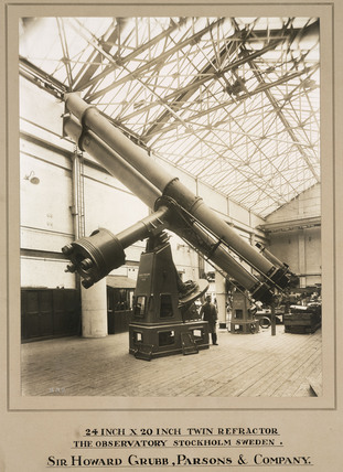 Refracting telescope, Grubb, Parsons & Company, Newcastle upon Tyne, 1931.