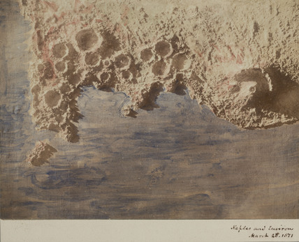 Bay of Naples and Vesuvius model, 1850-1871.