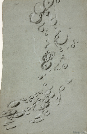 Lunar craters, 1840-1860.