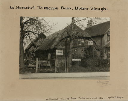 Timber frame thatched barn, Slough, Berkshire, 1920-1924.