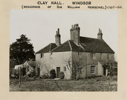 Clay Hall, old Windsor, Berkshire, 1950-1958.
