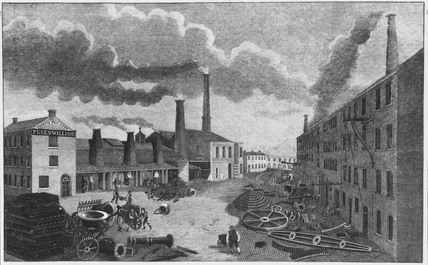 Peel and Williams Foundry, Manchester, 1814.