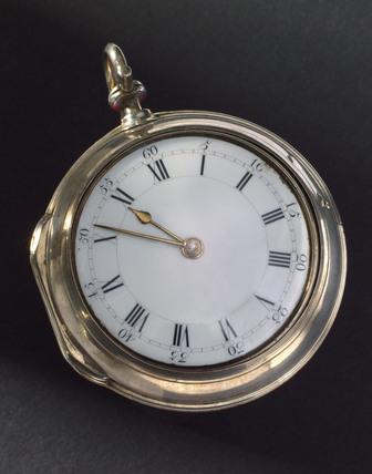Cylinder watch by Ellicott, London, c 1773.