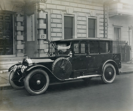 Cunard saloon 6 cylinder
