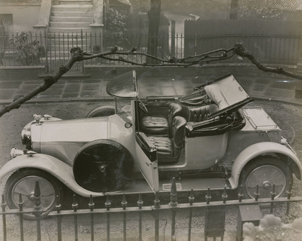 Montague Napier's car