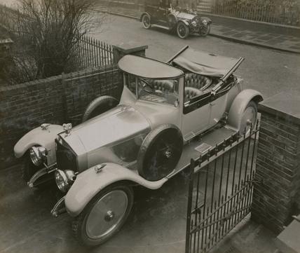 Cunard 6 cylinder saloon  [Montague Napier's car?]