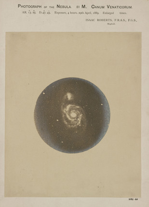Whirpool Galaxy (M51), 31 March 1889.