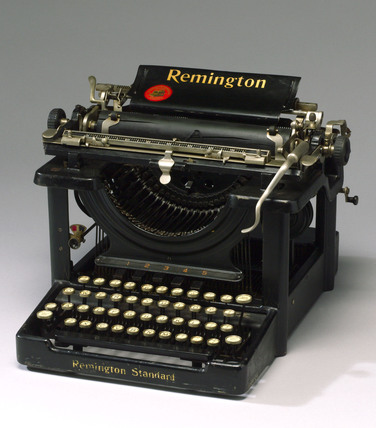 Remington typewriter 'No 10', USA, c 1902-1935.