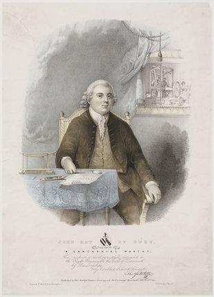'John Kay, a Lancashire Worthy', mid-18th century.