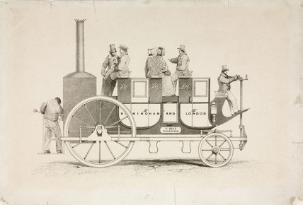 Hill's steam carriage, 1840.