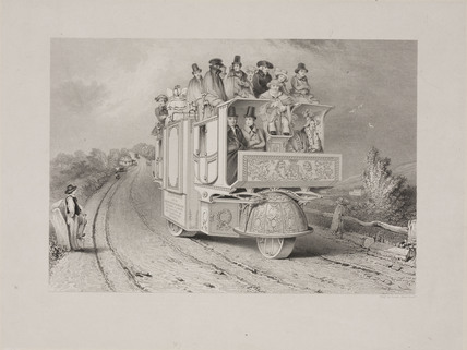 Church's steam carriage, 1833.