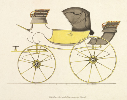 Barouchet carriage, 1816.