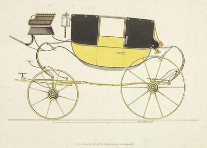 Town coach, 1816.