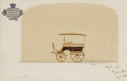 Wagonette, 1850-1870.