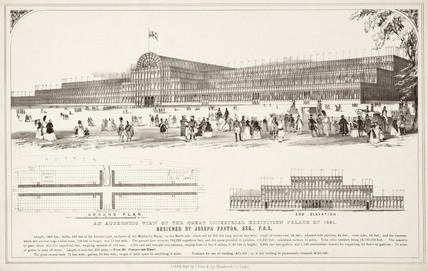 'An Authentic View of the Great Industrial Exhibition Palace of 1851.'