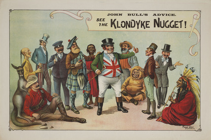 The Klondyke Nugget Show, 1900-1903.