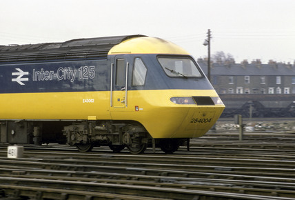 Power car of British Rail Inter-City 125 diesel locomotive, c 1980s.