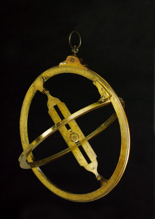 Universal equinoctial ring sundial, London, 18th century.