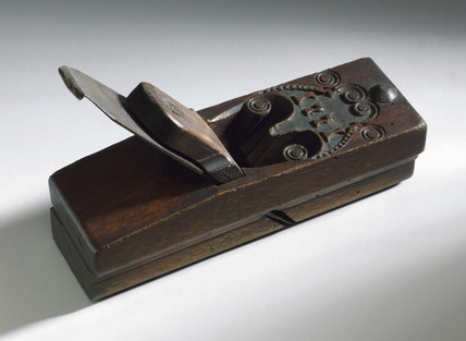 Wood moulding plane, 1771.