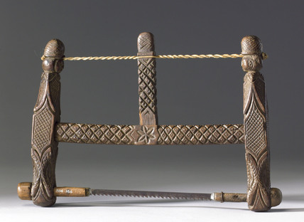 Frame saw, late 17th century.