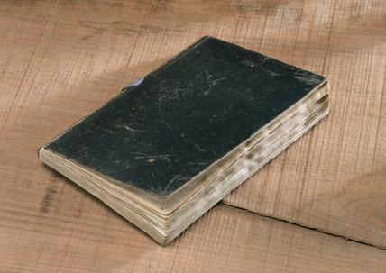Rastrick's notebook, Rainhill Trials, 1829.