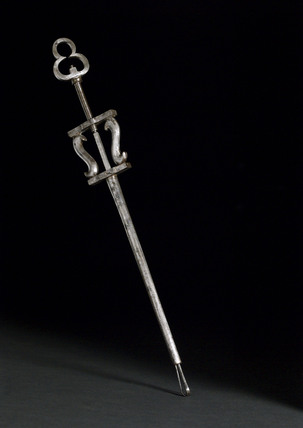 Steel bullet extractor, German, 17th century.