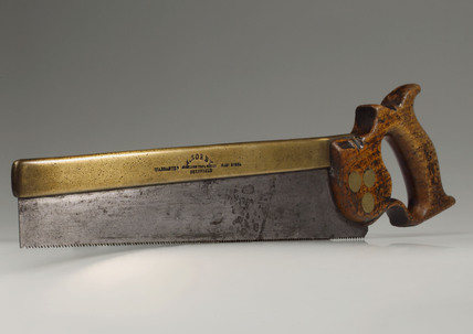 Back saw by Sorby, Sheffield, England 1820-1890.