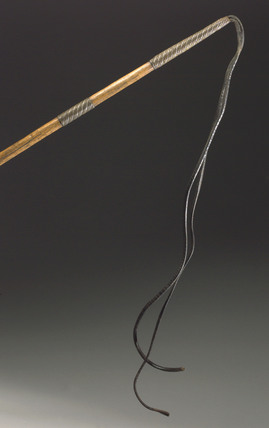 Slave whip, 1851-1900.