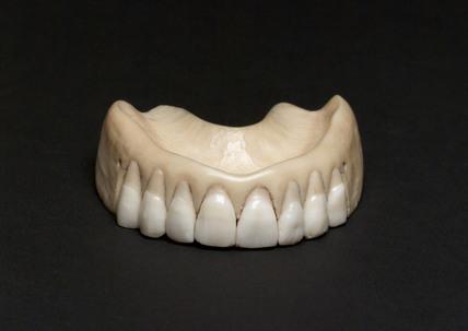 Ivory denture, c 1830.