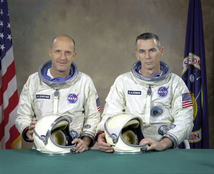 Gemini 9 Prime Crew, 5 January 1966.