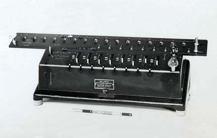 TIM calculating machine, c 1916.