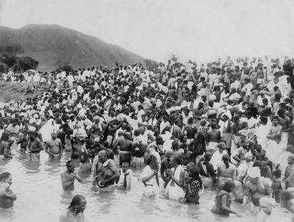 Kistna Pushkaram Festival at Andhra Province, 28 August 1933.