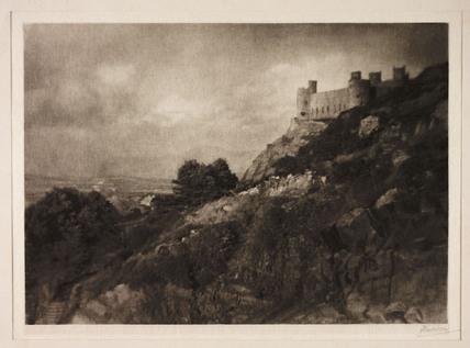 'Harlech Castle', 1907.