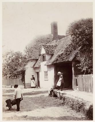 'A Village Street', 1888.