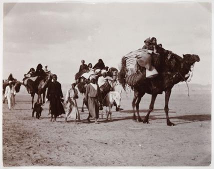 Camel train, c 1930.