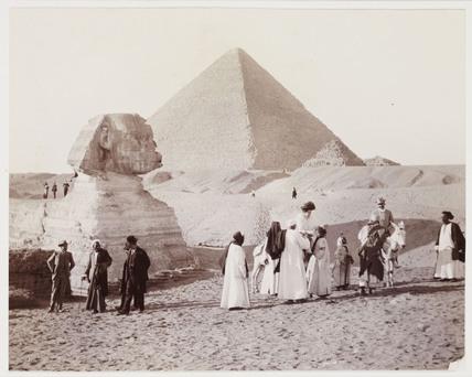 The Sphinx, Egypt, c 1905.
