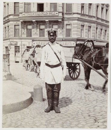Russian policeman, c 1905.