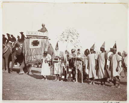 Indian holy men, c 1908.
