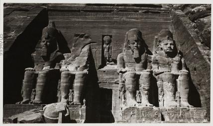 Abu Simbel, Egypt, c 1905.