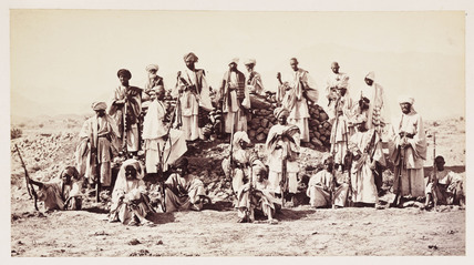 'Afridi Picket near to Jumrood', 1878.