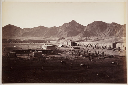 'Dakka Fort, Western End, Looking Towards Khurd Khyber', c 1878.