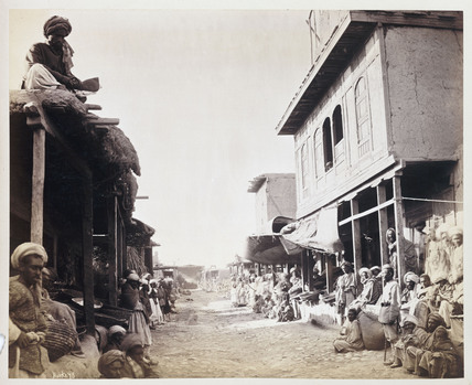 'Jellallabad [sic] Main Street', c 1878.