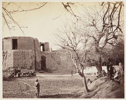 'Jellallabad [sic], The Bastion...', c 1878.